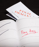 Pay day loan Stock Image