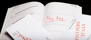 Pay day loan Stock Photography