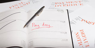 Pay day loan Royalty Free Stock Photo