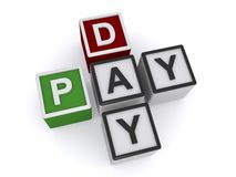Pay day Royalty Free Stock Photography