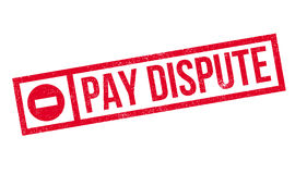 Pay Dispute rubber stamp Royalty Free Stock Images