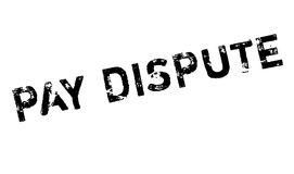 Pay Dispute rubber stamp Stock Photo