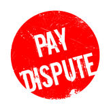 Pay Dispute rubber stamp Stock Photos
