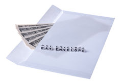 Pay envelope. Stock Images