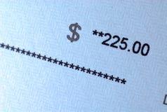 pay för mängdkontrollpapper Royaltyfri Bild