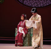 "Pay a formal visit Mother-in-law-Kunqu Opera ""the West Chamber"" Royalty Free Stock Photography"