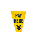 Pay here Stock Photo