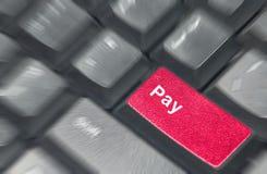 Pay keyboard Royalty Free Stock Photos