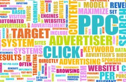 Pay Per Click. Advertising as a Concept Royalty Free Stock Photos
