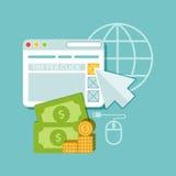 Pay per click Stock Photos