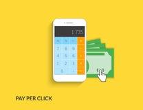 Pay per click Royalty Free Stock Image