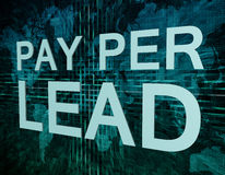 Pay per Lead Royalty Free Stock Images