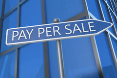 Pay per Sale Royalty Free Stock Photography