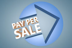 Pay per Sale Royalty Free Stock Photos