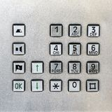 Pay Phone Keypad Royalty Free Stock Image
