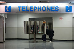 Pay Phones Royalty Free Stock Image
