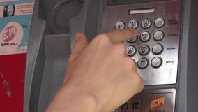 Pay Phones, Telephones, Communications stock video