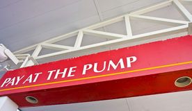 Pay at the Pump Stock Images