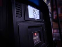 Pay at the Pump royalty free stock images