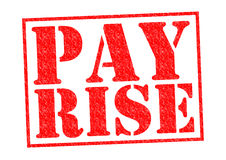 PAY RISE Royalty Free Stock Image