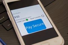 Pay Secure Concept stock photos