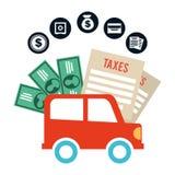 Pay taxes Stock Photos
