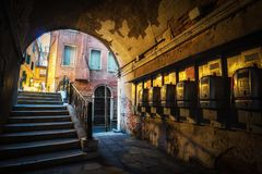 Pay phones in Saint Mark Square Stock Images