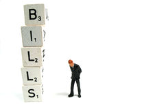 Pay your bills Stock Photo