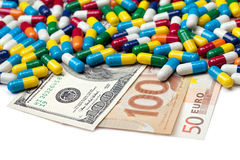 Pay For Your Meds Stock Images