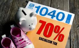 Pay your 70% Socialist Tax. Now royalty free stock photos