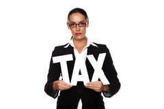 Pay your tax. Stock Images