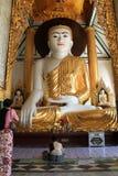 paya shwedagon寺庙 免版税库存图片