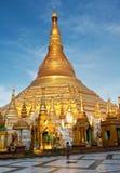 paya shwedagon Zdjęcia Royalty Free
