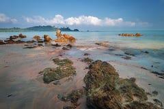 Payam ö i Thailand Arkivfoton