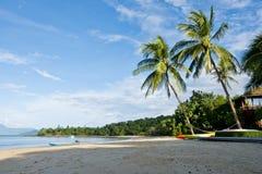 Payam Island. The Beach at Mae-Mai Bay, on Phayam Island Koh Payam in Ranong Province, South of Thailand royalty free stock photo