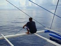 Payaos de las novedades usados por la industria pesquera artesanal de la línea para el atún de trucha salmonada en las Filipinas Imagenes de archivo