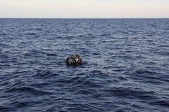 Payaos de las novedades usados por la industria pesquera artesanal de la línea para el atún de trucha salmonada en las Filipinas fotos de archivo libres de regalías