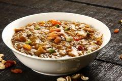 Payasam delicioso del Ada de la cocina india imagen de archivo
