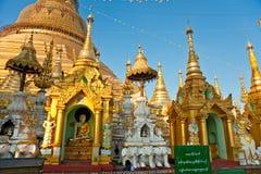 payashwedagonyangoon Arkivbild