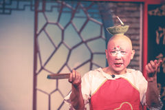 Payaso chino de la ópera Fotos de archivo