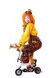 Payaso de circo Imagenes de archivo