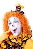 Payaso de circo Fotos de archivo