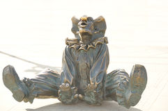 Payaso de la estatua Fotografía de archivo libre de regalías