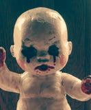 Payaso de la muñeca del asesino Fotografía de archivo libre de regalías