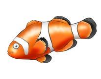 Payaso de los pescados ilustración del vector