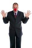 Payaso del hombre de negocios Imagen de archivo libre de regalías