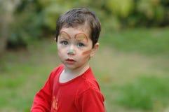 Payaso del muchacho Imagen de archivo libre de regalías