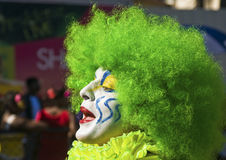 Payaso en el carnaval Foto de archivo libre de regalías