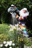 Payaso en el jardín Foto de archivo libre de regalías