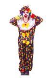 Payaso en el traje Foto de archivo libre de regalías